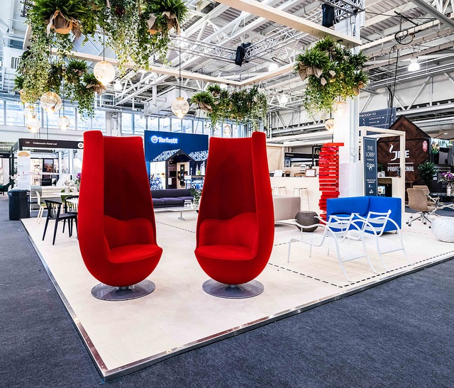 Case Study: Contemporary and stylish feature areas at Independent Hotel Show